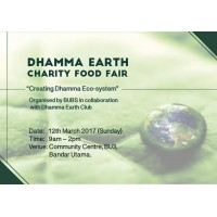 Dhamma Earth Charity Food Fair